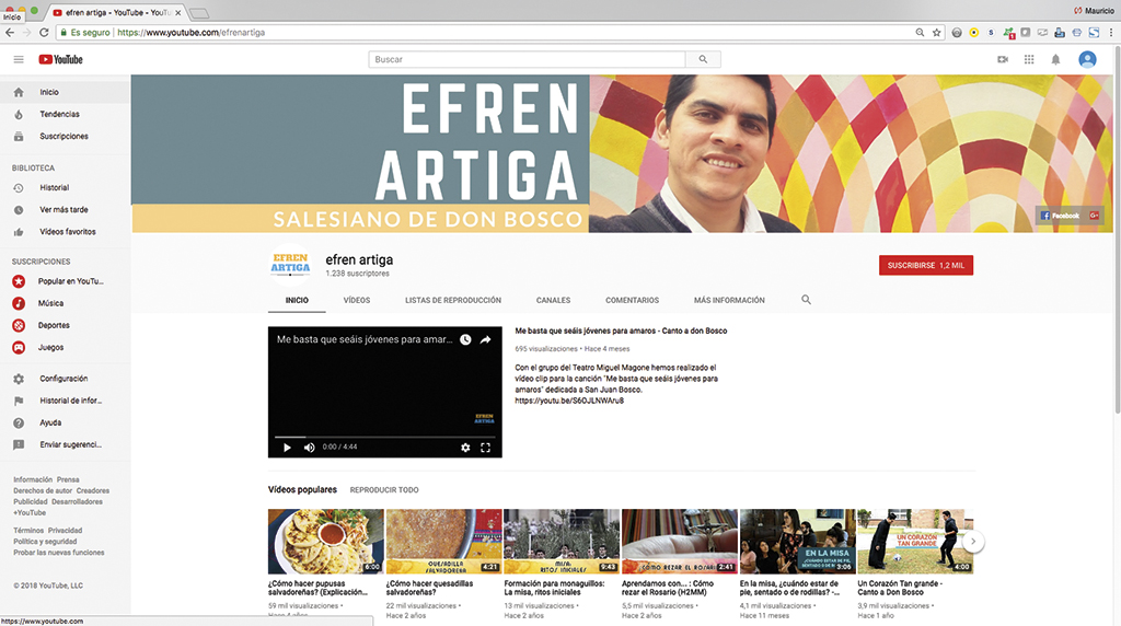 Efren Mejia Home Page